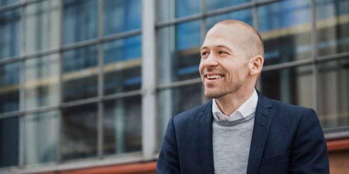 Christian Andreasson, VD för styrelseportalen Hippoly