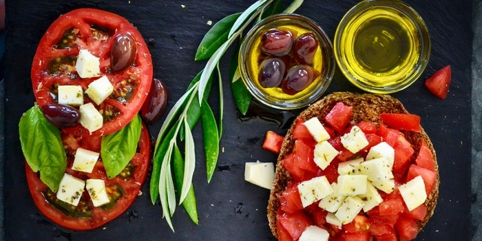 tomato salad with olive oil 1239312