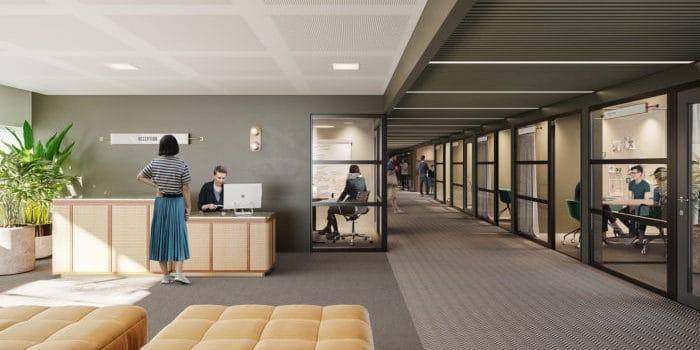 posthuset office reception area