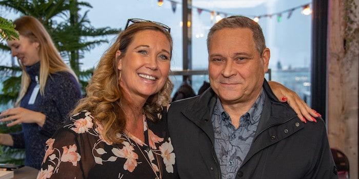 Lena Klaesson, försäljningschef på Eventeffect och Hansi Sundström, vd på Workman Event trivdes i TAK:s härliga inramning. Foto: Johan Persson, photojohan