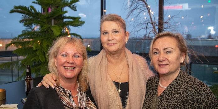 Från Telia kom Hellen Arleij, Lena Skooog och Suzana Stoka. Foto: Johan Persson, photojohan.