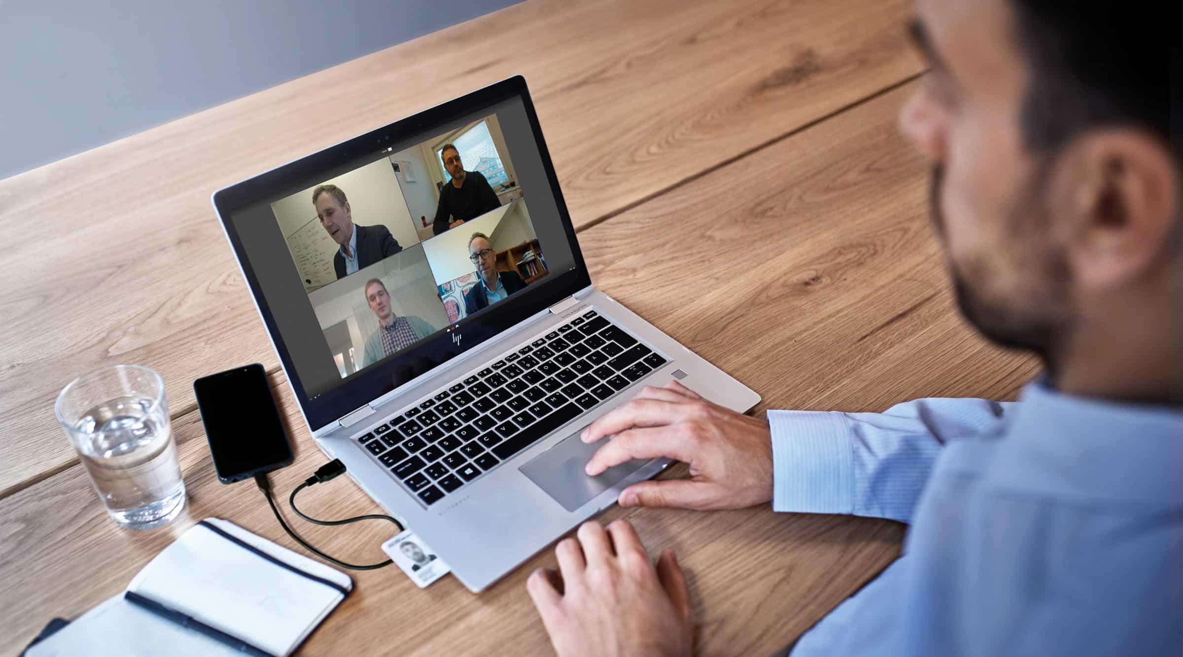 digitala möten med högre säkerhet