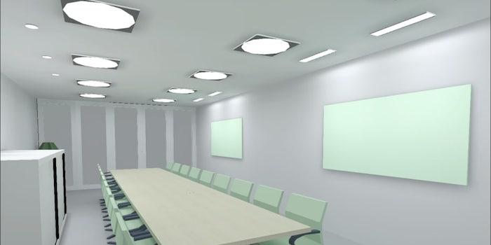 – Ofta arbetar vi enbart med ritningar och ljusberäkningar, men när kunden får en 3D-visualisering av rummet och belysningen blir det så mycket enklare att förstå!