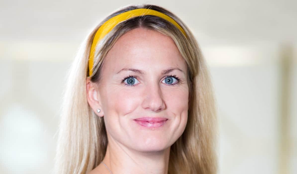 Virtuell assistent: Malin Björnell driver driver hon Ulla-Bella