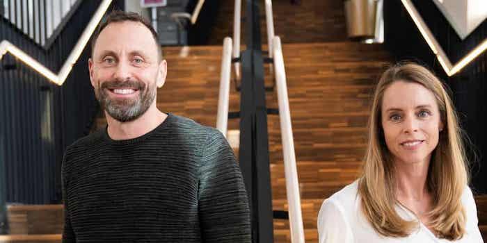 Mattias Sunneborn och Jenny Åkervall