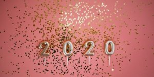 photo of 2020 on pink background 3401900