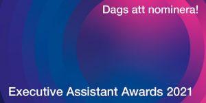 executive assistant awards 2021