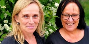 Mia Woll Hedin och Tove Möller
